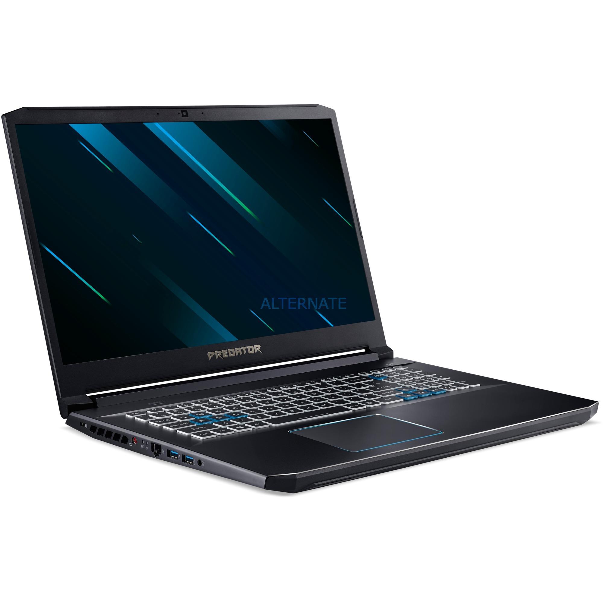 "Acer Predator Helios 300 PH317-53-73DV Gaming Notebook (17.3"", Core i7, 16GB DDR4, GeForce GTX 1660 Ti, 1TB SSD)"
