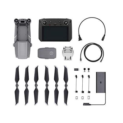 "DJI Mavic 2 Pro Drohne + Smart Fernsteuerung (Combo Quadrocopter mit Hasselblad Kamera HDR Video Variable Blendenöffnung 20MP 1"" CMOS Sensor (EU Version))"